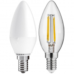 C35/C37 Светодиодные лампы формы