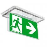 Аварийные светильники и знаки эвакуации