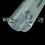 Отражатель Zercale 1000 1000007 Т5-54/Т8-38 (для ламп T5 54Вт и ламп Т8 38Вт 1047мм)