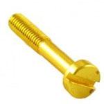 Саморез №3 (Выключатель, изолятор) В-914-31 3х20mm металл/золото