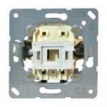 Выключатель однополюсный JUNG EP401U ECO Profi 10AX 250V