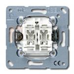 Выключатель сдвоенный JUNG EP405U ECO Profi 10AX 250V