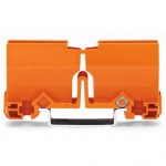 Монтажный держатель WAGO 773-332 PUSH WIRE для соединительных коробок, оранжевый