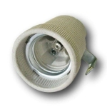 Патрон для ламп накаливания Issata 229817s1 F519A E27 с уголком, 4A, 250В, керамический