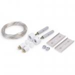 Комплект крепления к потолку Topmet Light 67120001 SELV, 50В, 150мм, белый