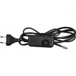 Сетевой шнур с диммером Feron 6902-11 DM103-200W, 230V 1,5+0,5м, черный
