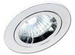Светильник встраиваемый Sylvania 0059645 SYL:FIRE TL FX С LV-50W GX/GU5.3 1P+LT, хром, неподвиж, транс+лампа