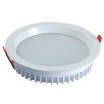 Светильник светодиодный встраиваемый Zercale 18W KAS-DL15-B-818 3000K, белый, круглый, 220мм