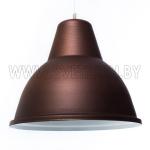 Светильник подвесной Zercale Cupola 01-300-102, ржавчина+белый