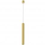 Светильник светодиодный подвесной Kam`s Light KAS-PL01-A-5007-700 7W 3K, CREE COB+Kegu, 36°, CRI82, IP20, 700*50*2240mm, золото