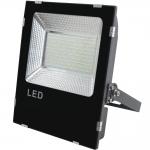 Светильник светодиодный (прожектор) GTV LD-FLXC200W-64-E iMAX, 200W, 16000лм, AC85-265V, 50/60Hz, PF>0,9, RA>80, IP65, 120°, 6400K, черный корпус