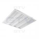 Панель светодиодная GTV LD-RO4060W-50 ROMA, 50W, 4000К, IP20, AC220-240V, 50-60Hz, 5500lm, 60x60cm, 140°, белый корпус