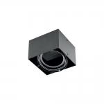 Светильник потолочный накладной GTV OP-PIREN1-20 PIREO, IP20, чёрный