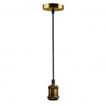 Светильник подвесной Jazzway 4895205012127 RETRO PLC 01 E27 ANTIQUE BRONZE, антикварная бронза