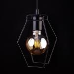 Светильник подвесной Nowodvorski 9670 FIORD, IP20, E27(max.1x60W), черный