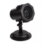 Проектор светодиодный NEON-NIGHT 601-262, 6Вт, 4LED, 12В, IP44, 12 слайдов, мультиколор
