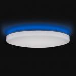 Светильник светодиодный потолочный Yeelight YLXD02YL2 Moon LED Smart Ceiling Light 650, 50Вт,  0.1-3500Лм, 95Ra, Wi-Fi, Bluetooth, RGB, 65x65см, белый, эффект звездного неба