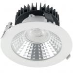 Светильник светодиодный встраиваемый GTV LD-FAR10W-40 FARO, 4000K, 10W, IP20, 800lm, 60°, CRI90, 230V AC 50/60Hz