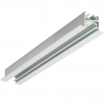 Шинопровод встраиваемый Concord 2036024 LYTESPAN 1 SINGLE CIRCUIT 3M RECESSED TRACK UNIT WHITE, белый