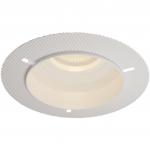 Светильник встраиваемый неповоротный Maytoni DL043-01W HOOP, 1xGU10 MR16, IP20, сталь, безрамочный, белый