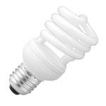 Лампа компактная люминесцентная Sylvania 0031518 Mini-Lynx Spiral 23W/827/E27 SLV