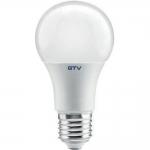 Лампа светодиодная GTV LD-PN3A60-15W-E, E27, A60, 4000K, 15W, AC175-260V, 220°, 1200 lm, 130mA