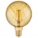 Лампа светодиодная OSRAM 4058075092037 LED STAR VINTAGE 1906 LED Globe 4.5W 230V E27 825 PINECONE, шарик, теплый свет
