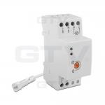 Датчик освещенности сумеречный GTV CZ-CZ1000-00 CZ-1, max.4800W, IP65, AC220-240V, 50-60Hz, 20A, работает с LED, белый корпус
