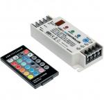 Контроллер GTV LD-KONRGB-00, LED RGB+ДУ, DC12/24V, IP20