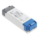 Трансформатор светодиодный GTV LD-ZASPRO33W-30 LED PRO, 12V, 33W, input 220-240V, IP20, 140x48x28mm