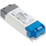 Трансформатор светодиодный GTV LD-ZASPRO16W-30 LED PRO, 12V, 16W, 220-240V, IP20, 120x42x27mm