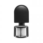 Датчик движения инфракрасный GTV CR-CR2000-10 CR-2, max.1200W / max.300W (LED), IP44, AC220-240V, 50-60Hz, угол действия 180°, радиус действия 8м, работает с LED, черный корпус